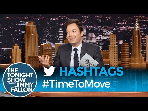 Hashtags: #TimeToMove