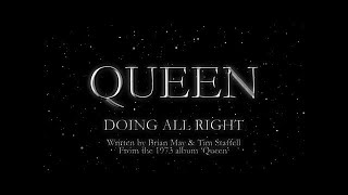 Gambar cover Queen - Doing All Right (Official Lyric Video)