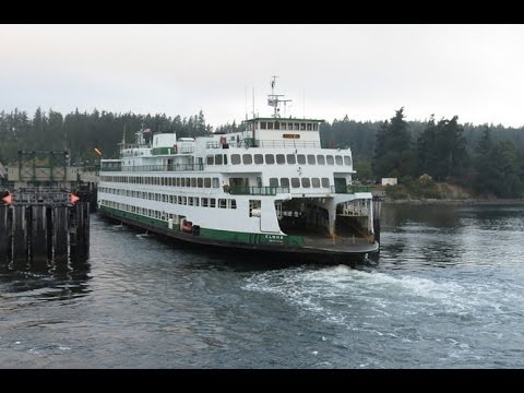 Ferry trip from Anacortes, WA to Swartz Bay, Vancouver Island, BC, Canada - 9/8/12