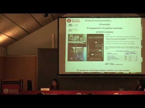 3. Monitoratge energètic: Sílvia Llimós. Diputació de Barcelona