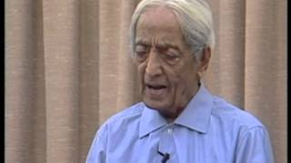 I long to be loved, and it is a constant anguish. What am I to do? | J. Krishnamurti