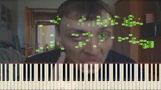 Дирижабль Ага На пианино  MIDI