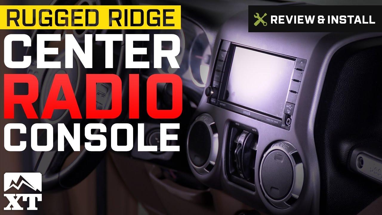 Jeep Wrangler Rugged Ridge Center Radio Console 2011 2017