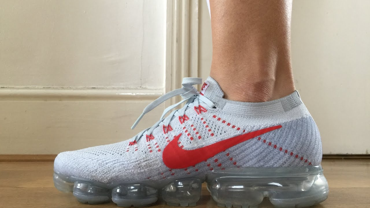 Nike Vapormax Platinum University Red