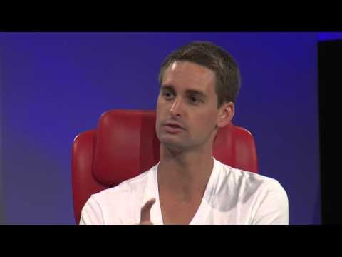 Snapchat's three-part business model with CEO Evan Spiegel (2015 Code Conference, Day 1)
