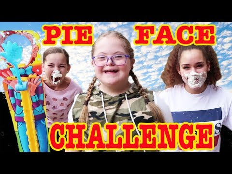 PIE FACE SKY HIGH CHALLENGE! Family Fun Games For Kids