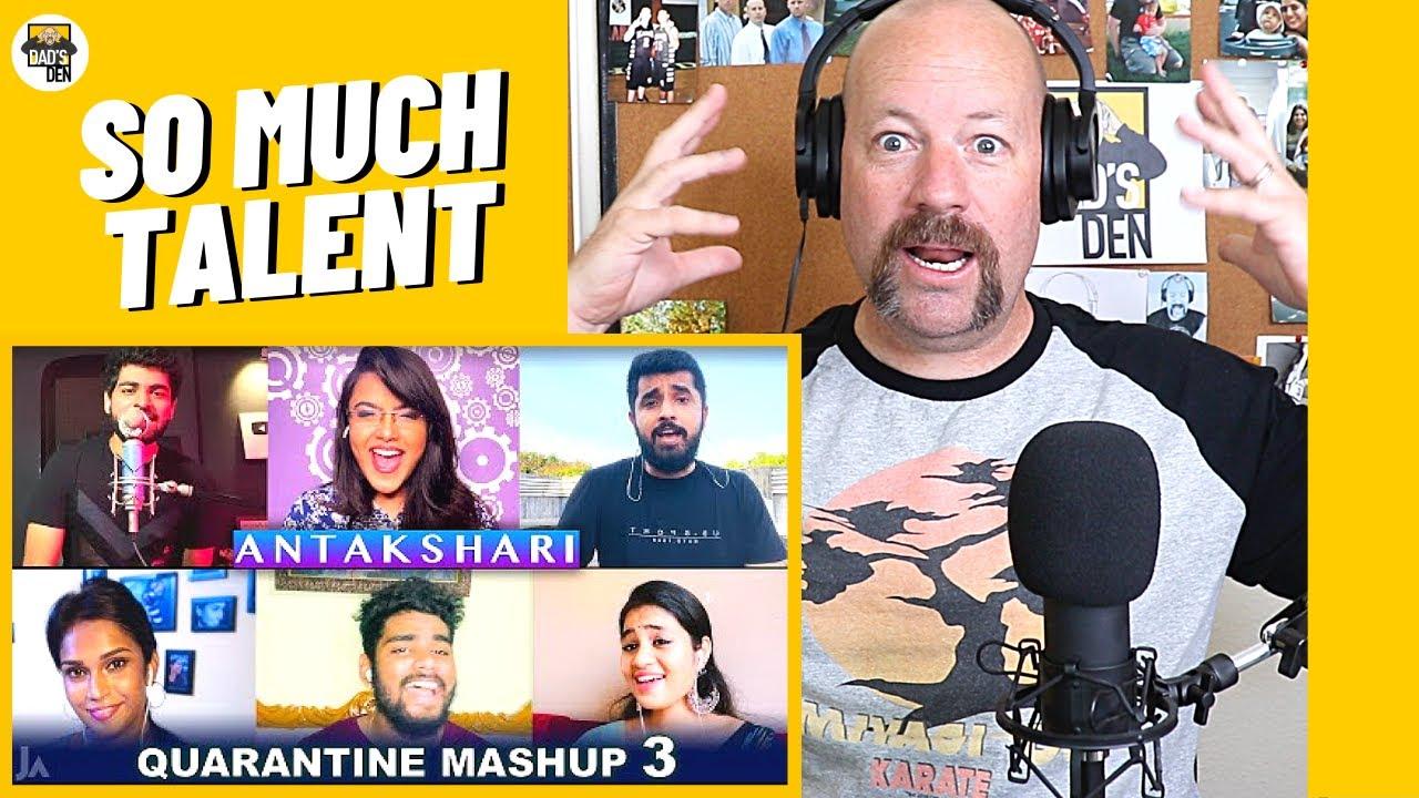Quarantine Mashup 3 Reaction | Antakshari | Joshua Aaron | Dad's Den