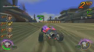 Jak X: Combat Racing -Winning with All the Special Cars! (Sandshark, Naughty Dog and Daxtermobile)