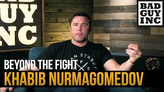 I am fascinated by Khabib Nurmagomedov…