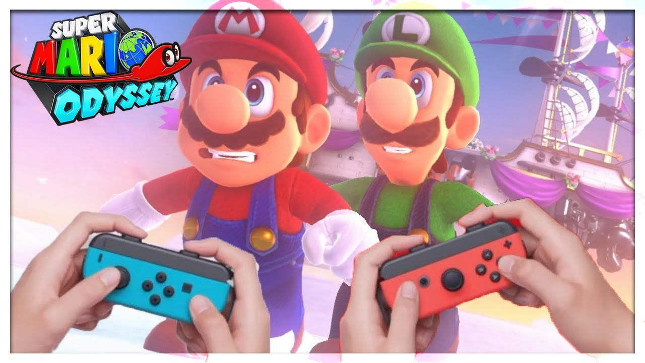 Super Mario Odyssey Multiplayer Main Screen Before Realease