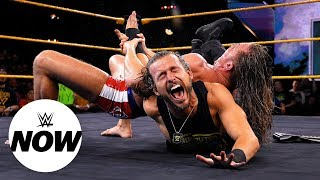 Gambar cover Adam Cole listed on NXT injury report after Matt Riddle attack: WWE Now, Sept. 26, 2019