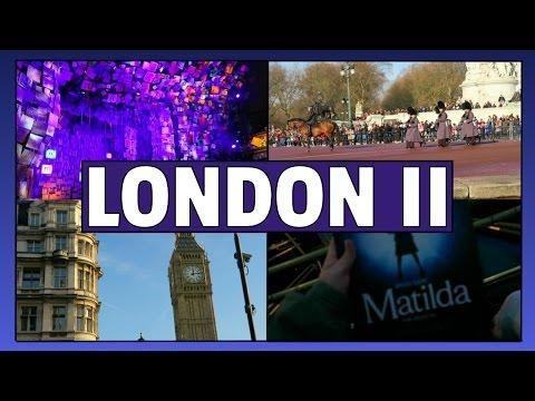 SEEING MATILDA TWICE?! | LONDON VLOG