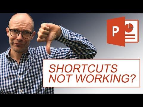 Keyboard Shortcuts Not Working (5 Fixes) - YouTube