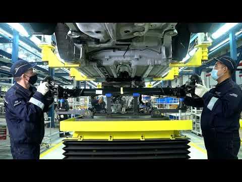 Специальный репортаж о заводе Hyundai Trans Kazakhstan в про