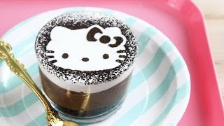 How to Make Hello Kitty No-Bake Cheesecakes!