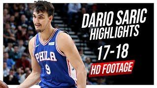 76ers PF Dario Saric 2017-2018 Season Highlights ᴴᴰ