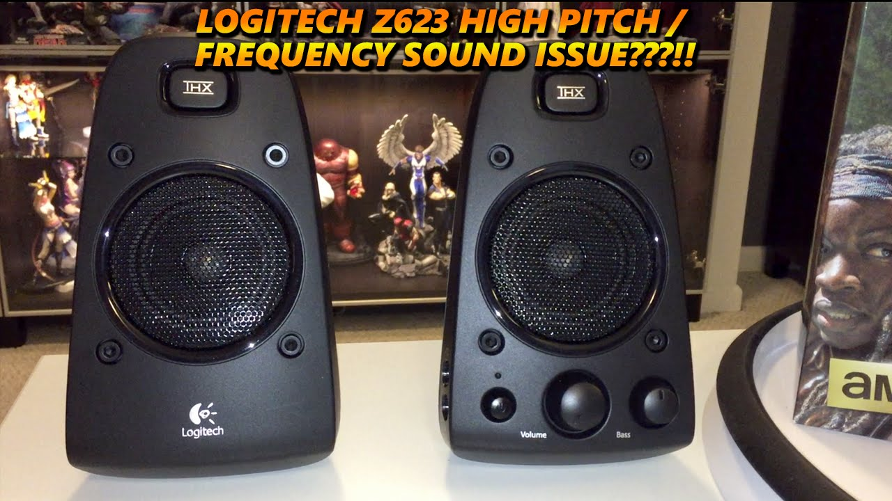 Logitech - Z623 - High Pitch / Frequency Sound Issue