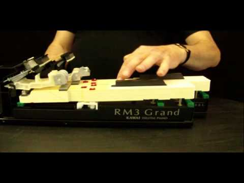 Kawai Piano Action - RM3 vs Grand Feel (GF)