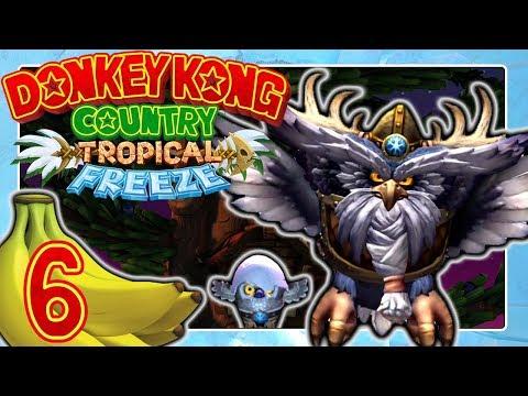 DONKEY KONG COUNTRY: TROPICAL FREEZE 🍌 #6: Spannendes Skowl Battle & Von Kopf Zu Kopf In 2-K