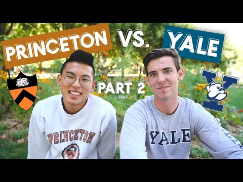 Life at PRINCETON vs YALE feat. Josh Beasley (Ivy League Workload, Social Scene, Daily Schedules)