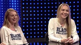 Blaine Volleyball Interviews - Sports Den Fall Finale 2018