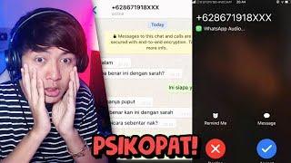 TEMANKU PSIKOPAT 😨🔪 | Chat History Horror Indonesia