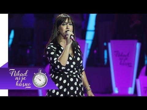 Zorica Nikolic - Opet imam razloga da zivim - (live) - Nikad nije kasno - EM 02 - 30.09.2018