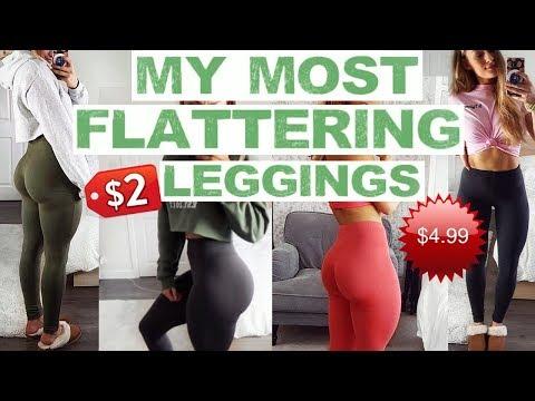 THE MOST FLATTERING LEGGINGS I OWN   Try On!