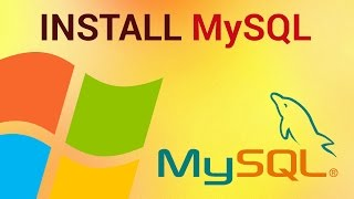 How to install MySQL on Windows 7(, 2013-02-18T13:56:41.000Z)