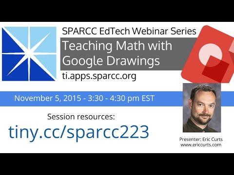 Teaching Math with Google Drawings