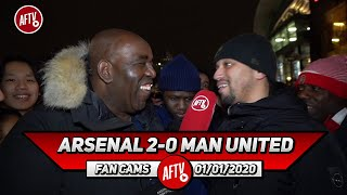 Arsenal 2-0 Man United | Pepe Made Luke Shaw Lose Weight (Curtis)