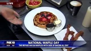 It's National Waffle Day