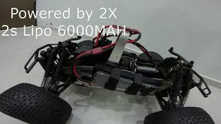 HPI Savage 4.6 electric conversion
