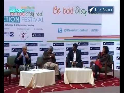 'India Bold & Real' session at India Nonfiction Festival 2013, Delhi