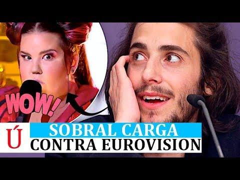 Salvador Sobral carga contra Netta, Israel y Eurovision 2018 antes de la segunda semifinal y final