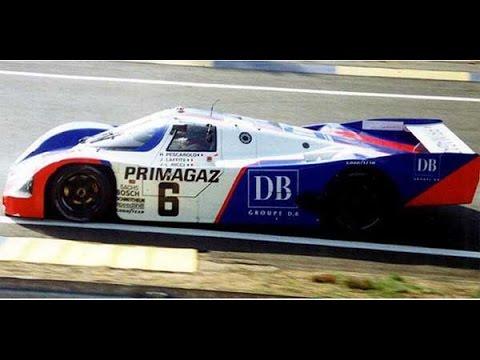 [F1C] Primagaz Joest Racing (Porsche 962C) @ 1990 24H of Le Mans with Henri Pescarolo [HD]