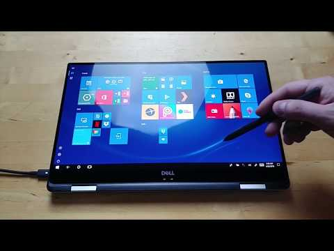 Dell XPS 15 2-in-1 unboxing