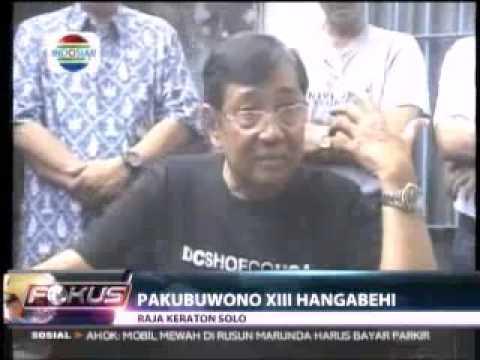Konflik Kraton Surakarta   Pakubuwono XIII Hangabehi Angkat Bicara