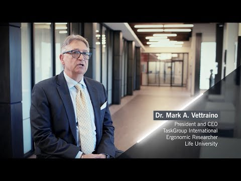 Dr. Mark Vettraino on Allseating's You and Levo Chairs