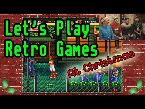 Let's Play Retro Games At Christmas