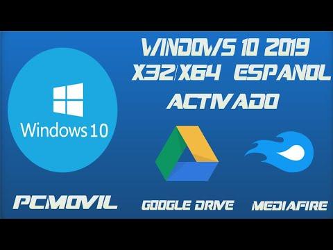 Windows 10 2019 En X32/x64 Bits Actualizado A Junio 2019 (LINKS EN GOOGLE DRIVE Y MEDIAFIRE)