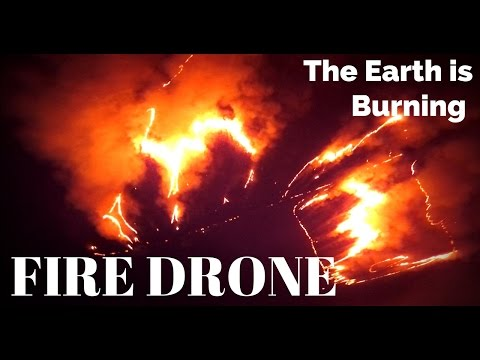 RACING DRONE Vs FIRE !