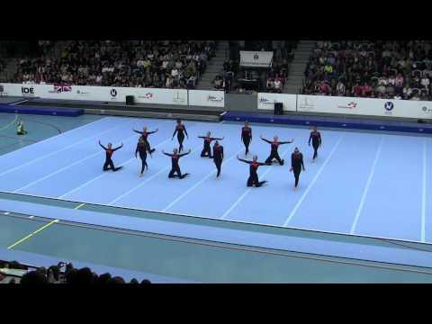 Iceland Senior Women Floor EM2010