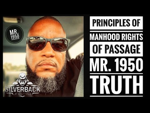 The State Of Manhood Real Talk With Mr. 1950 And Information Man Truth