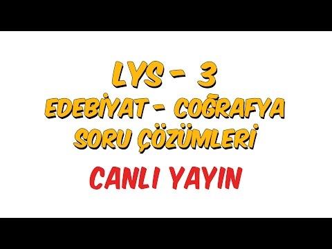 Hürriyet LYS Edebiyat - Coğrafya Soru...