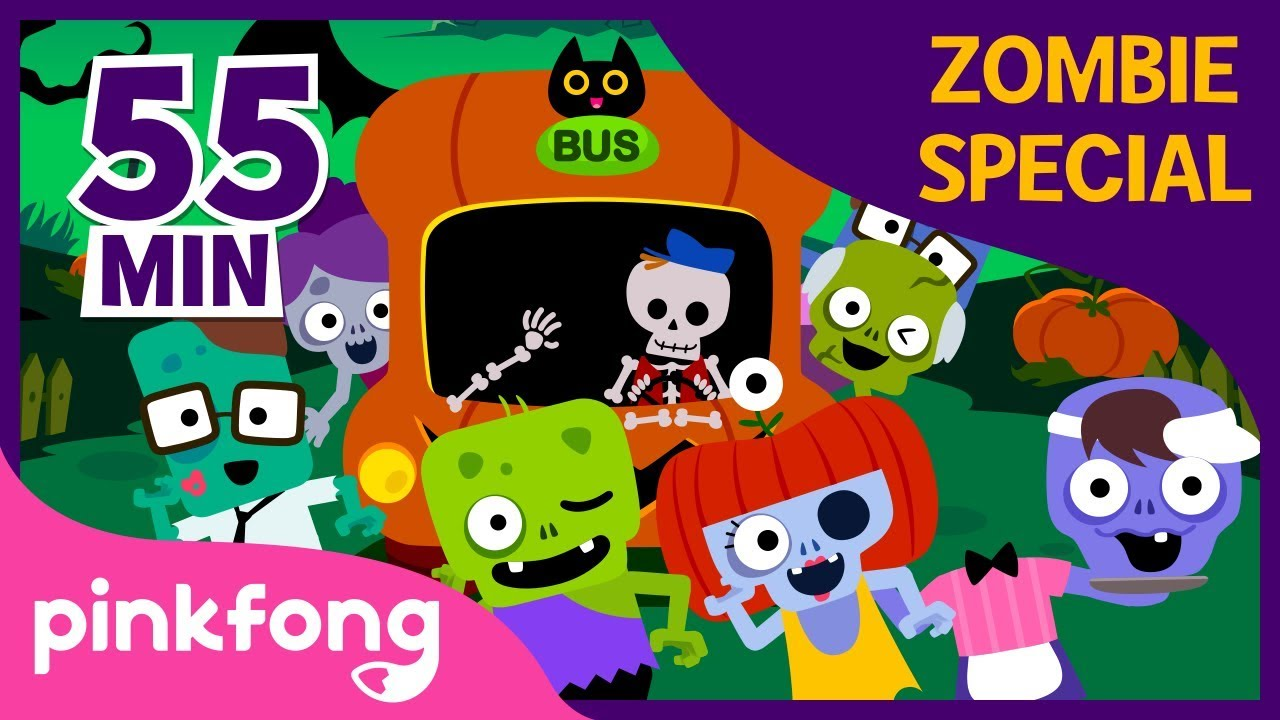 Halloween Zombie Special | +Compilation | Halloween Songs | Pinkfong Songs for Children