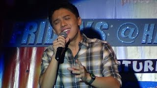 TIMMY PAVINO - Go The Distance (Center For Pop Music - Cubao)