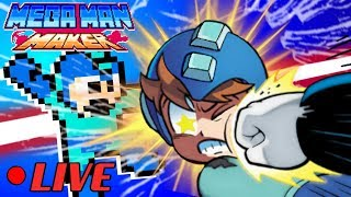 We Play Your MegaMAN Maker Levels LIVE! #32