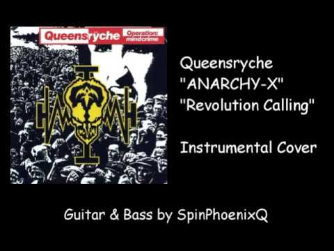 Queensryche - Anarchy-X_Revolution Calling - Instrumental Cover