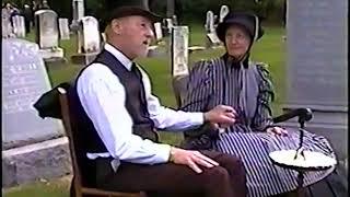 2002 Crystal Lake Historical Society Cemetery Walk   Full Video